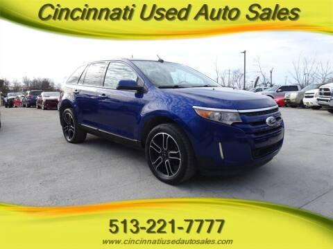 2013 Ford Edge for sale at Cincinnati Used Auto Sales in Cincinnati OH