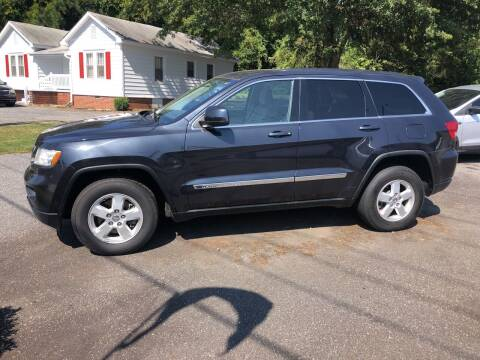 2013 Jeep Grand Cherokee for sale at Dorsey Auto Sales in Anderson SC