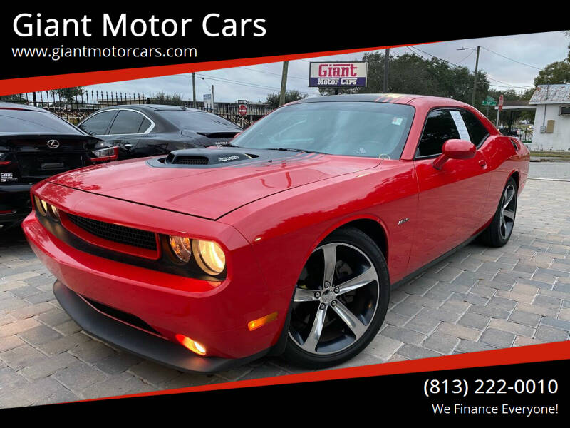 2014 Dodge Challenger for sale at Giant Motor Cars in Tampa FL