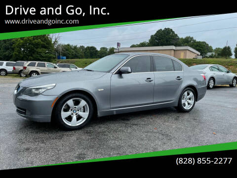 2008 BMW 5 Series for sale at Drive and Go, Inc. in Hickory NC