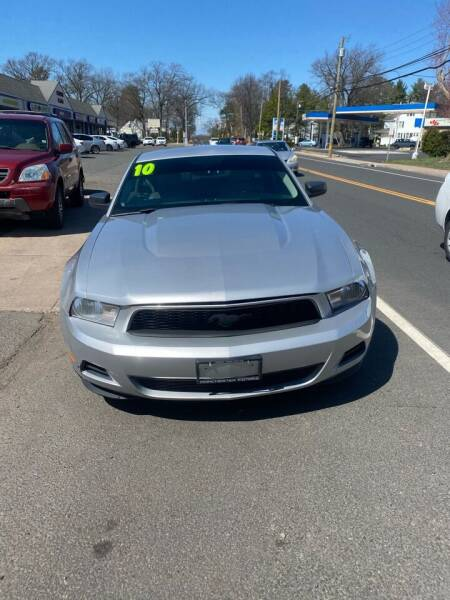 2010 Ford Mustang for sale at Manchester Motors in Manchester CT
