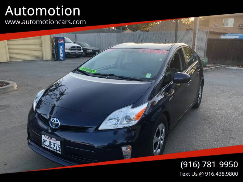2015 Toyota Prius for sale at Automotion in Roseville CA
