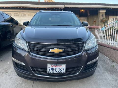 2015 Chevrolet Traverse for sale at HAPA AUTO DEALERS in Santa Clara CA