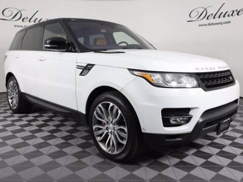 2016 Land Rover Range Rover Sport for sale at DeluxeNJ.com in Linden NJ
