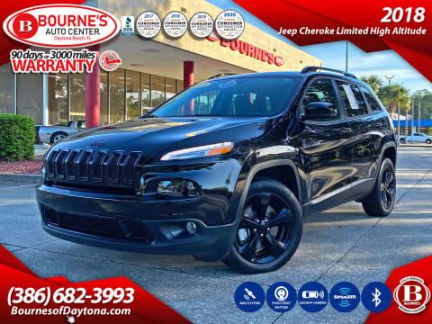 2018 Jeep Cherokee for sale at Bourne's Auto Center in Daytona Beach FL
