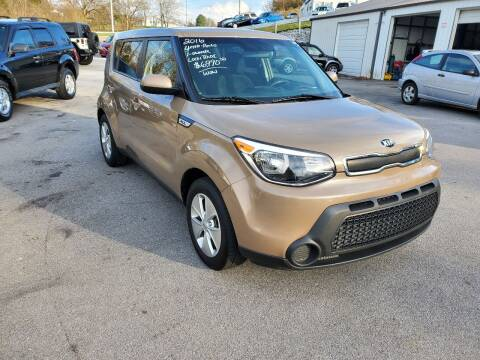 2016 Kia Soul for sale at DISCOUNT AUTO SALES in Johnson City TN