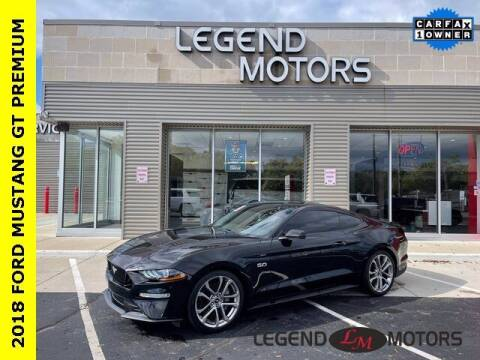 2018 Ford Mustang for sale at Legend Motors of Ferndale - Legend Motors of Waterford in Waterford MI