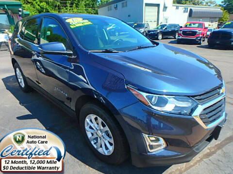 2018 Chevrolet Equinox for sale at Jon's Auto in Marquette MI