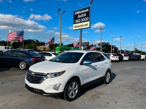 2020 Chevrolet Equinox for sale at Michaels Autos in Orlando FL