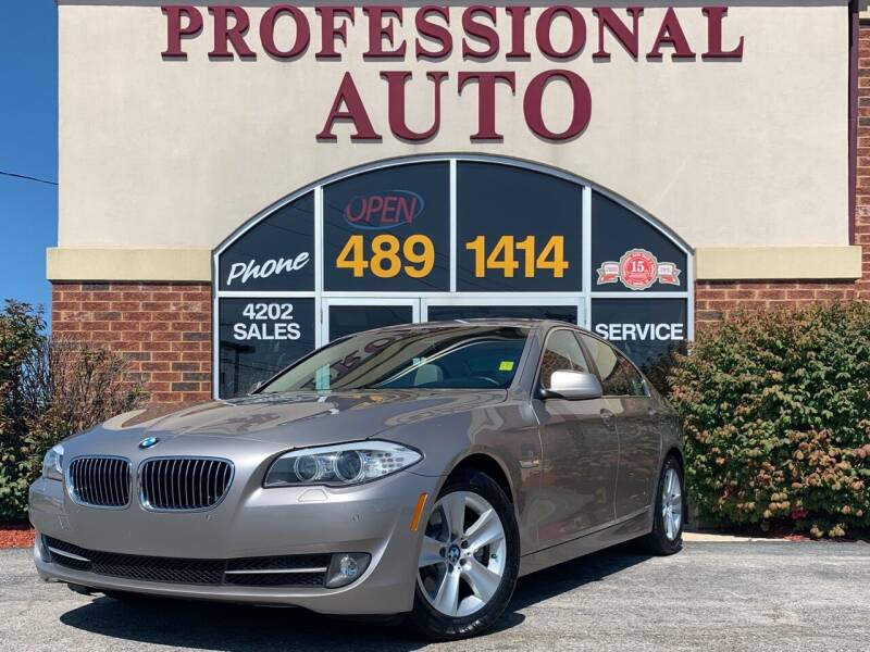 2012 BMW 5 Series for sale at Professional Auto Sales & Service in Fort Wayne IN