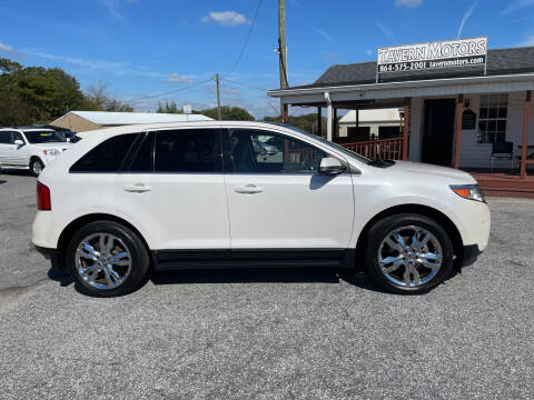 2013 Ford Edge for sale at TAVERN MOTORS in Laurens SC
