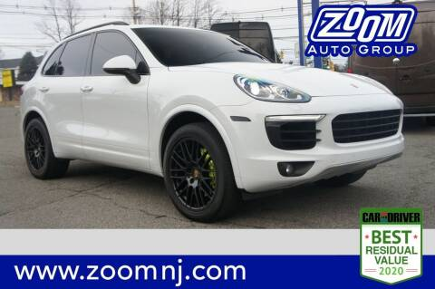2017 Porsche Cayenne for sale at Zoom Auto Group in Parsippany NJ
