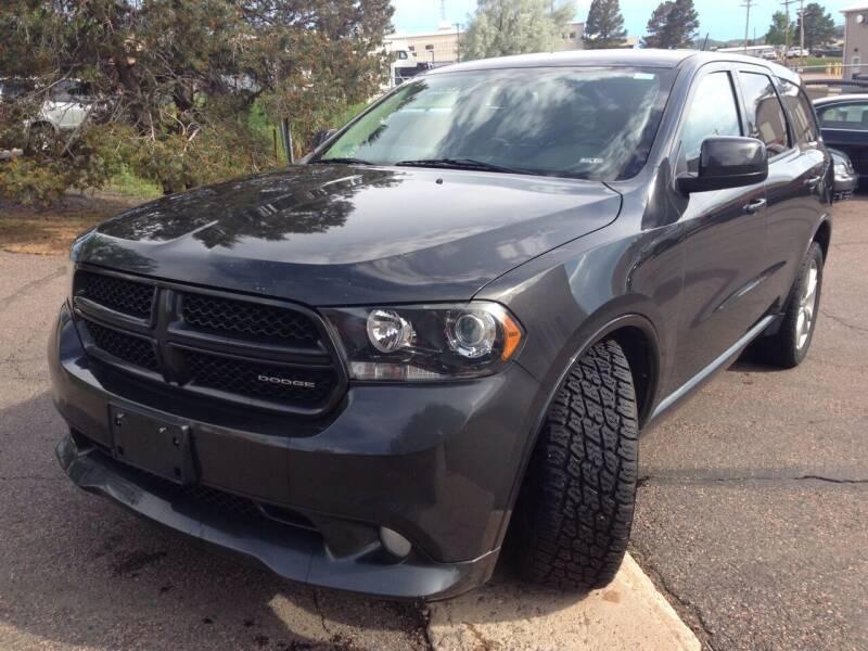 2011 Dodge Durango for sale at Cherry Motors in Castle Rock CO