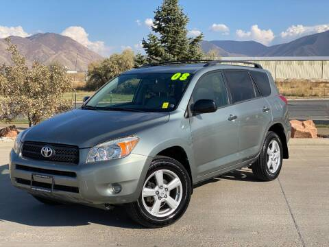 2008 Toyota RAV4 for sale at Evolution Auto Sales LLC in Springville UT