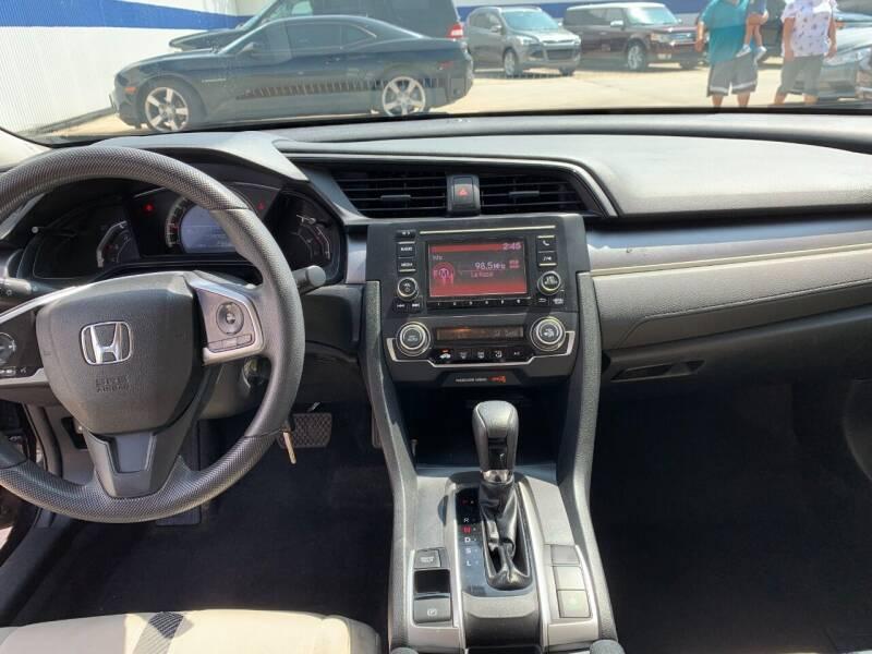 2017 Honda Civic LX 4dr Sedan CVT - Houston TX