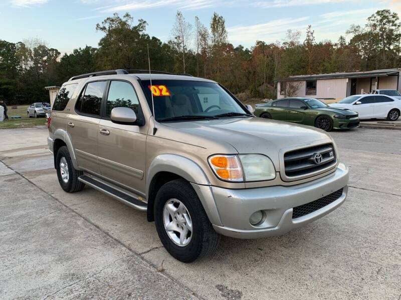 2002 Toyota Sequoia for sale at AUTO WOODLANDS in Magnolia TX