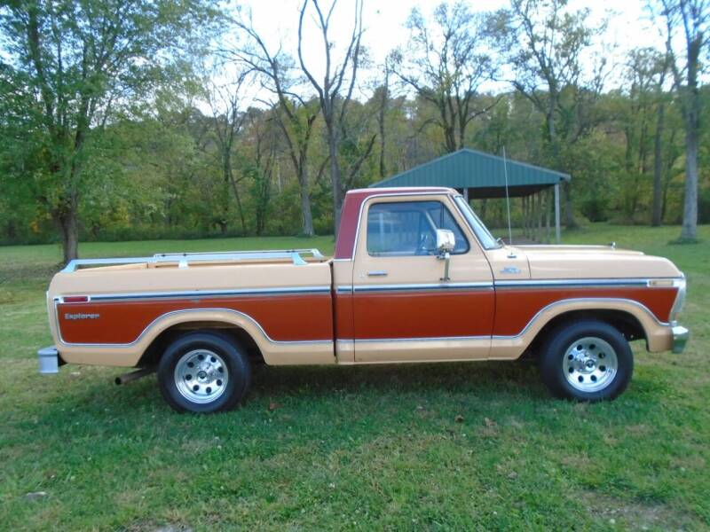 1978 Ford F-100 for sale at Bickel Bros Auto Sales, Inc in Louisville KY