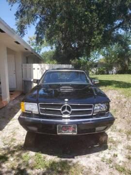 1987 Mercedes-Benz 560-Class for sale at Classic Car Deals in Cadillac MI