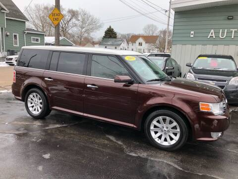 2009 Ford Flex for sale at SHEFFIELD MOTORS INC in Kenosha WI