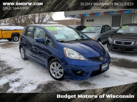 2009 Honda Fit for sale at Budget Motors of Wisconsin in Racine WI