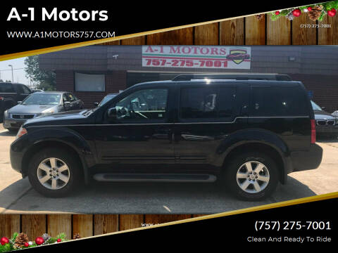 2012 Nissan Pathfinder for sale at A-1 Motors in Virginia Beach VA