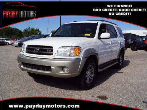 2004 Toyota Sequoia for sale at Payday Motors in Wichita KS