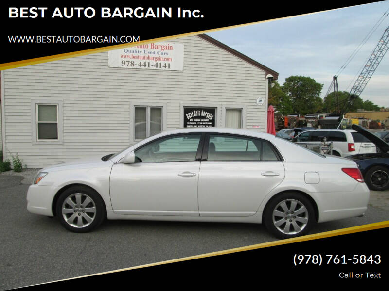 2006 Toyota Avalon for sale at BEST AUTO BARGAIN inc. in Lowell MA