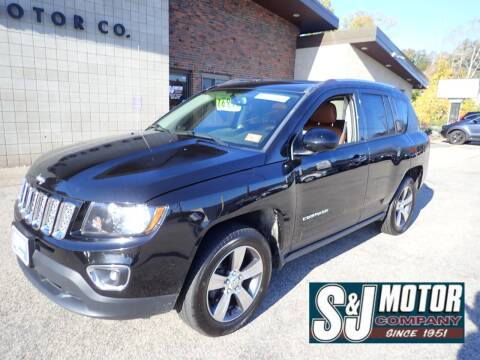 2016 Jeep Compass for sale at S & J Motor Co Inc. in Merrimack NH