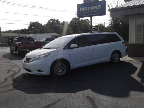 2014 Toyota Sienna for sale at Route 106 Motors in East Bridgewater MA