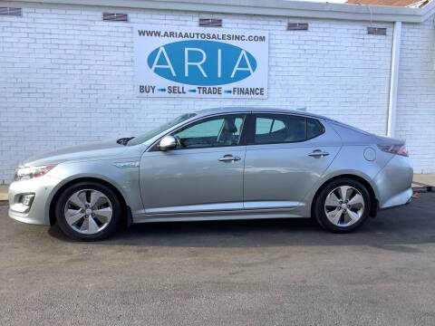 2015 Kia Optima Hybrid for sale at ARIA  AUTO  SALES in Raleigh NC