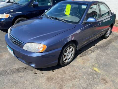 2003 Kia Spectra for sale at Auto Tech Car Sales in Saint Paul MN