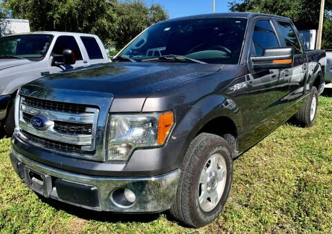2013 Ford F-150 for sale at DAN'S DEALS ON WHEELS in Davie FL