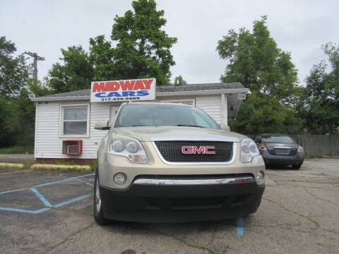 2008 GMC Acadia for sale at Midway Cars LLC in Indianapolis IN