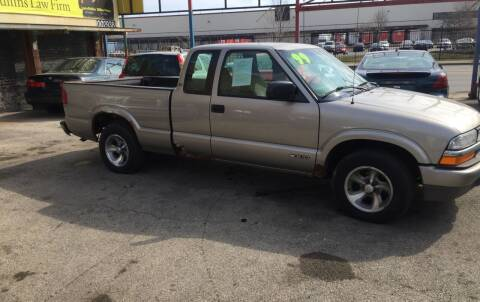 1999 Chevrolet S-10 for sale at HW Used Car Sales LTD in Chicago IL