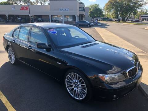 2008 BMW 7 Series for sale at GOLD COAST IMPORT OUTLET in St Simons GA