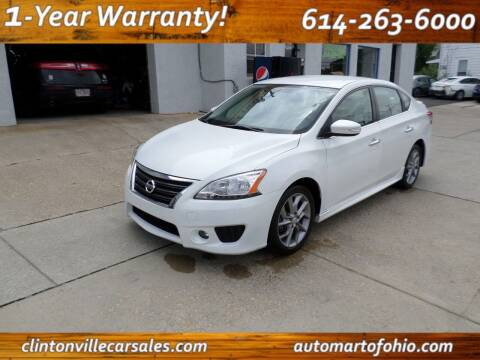 2015 Nissan Sentra for sale at Clintonville Car Sales in Columbus OH
