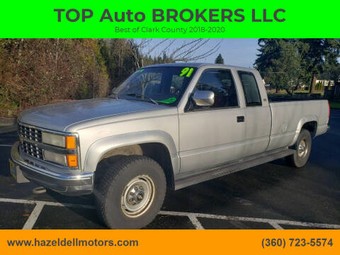 1991 Chevrolet C/K 2500 Series for sale at TOP Auto BROKERS LLC in Vancouver WA