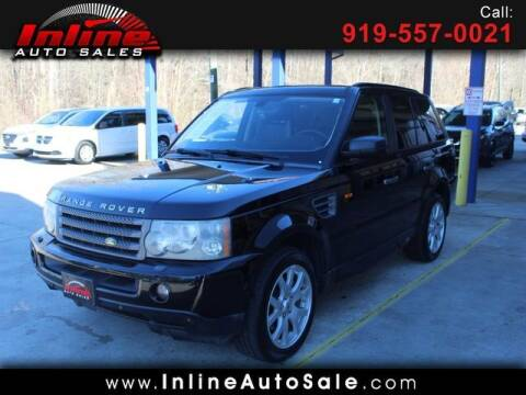 2007 Land Rover Range Rover Sport for sale at Inline Auto Sales in Fuquay Varina NC