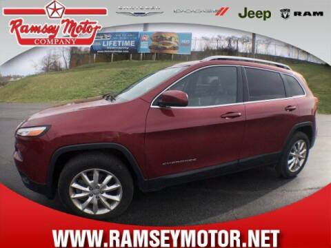 2017 Jeep Cherokee for sale at RAMSEY MOTOR CO in Harrison AR