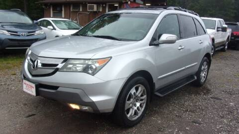 2008 Acura MDX for sale at Select Cars Of Thornburg in Fredericksburg VA