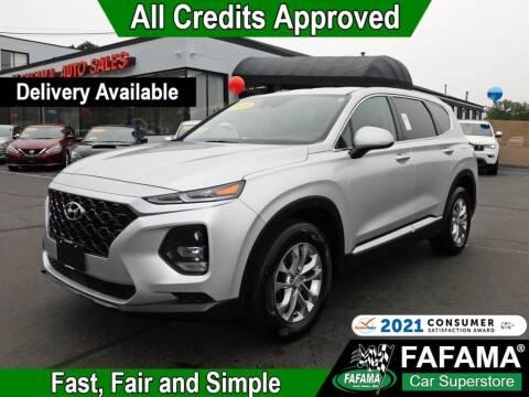 2019 Hyundai Santa Fe for sale at FAFAMA AUTO SALES Inc in Milford MA