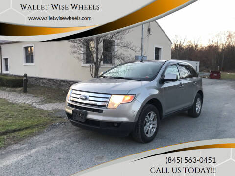 2008 Ford Edge for sale at Wallet Wise Wheels in Montgomery NY