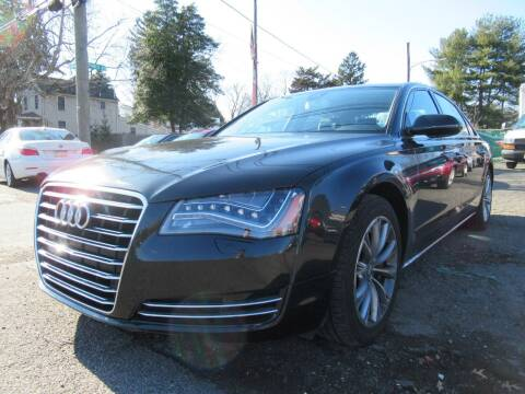 2011 Audi A8 L for sale at PRESTIGE IMPORT AUTO SALES in Morrisville PA