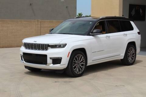 2021 Jeep Grand Cherokee L for sale at CLASSIC SPORTS & TRUCKS in Peoria AZ