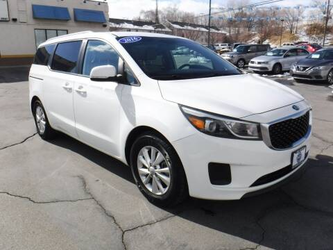 2016 Kia Sedona for sale at Platinum Auto Sales in Provo UT