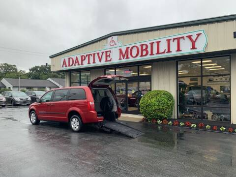 2008 Dodge Grand Caravan for sale at Adaptive Mobility Wheelchair Vans in Seekonk MA