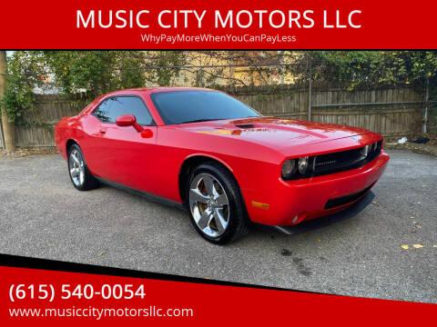 2009 Dodge Challenger for sale at MUSIC CITY MOTORS LLC in Nashville TN
