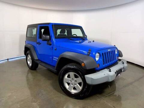 2012 Jeep Wrangler for sale at Smart Motors in Madison WI