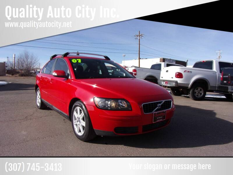 2007 Volvo S40 for sale at Quality Auto City Inc. in Laramie WY
