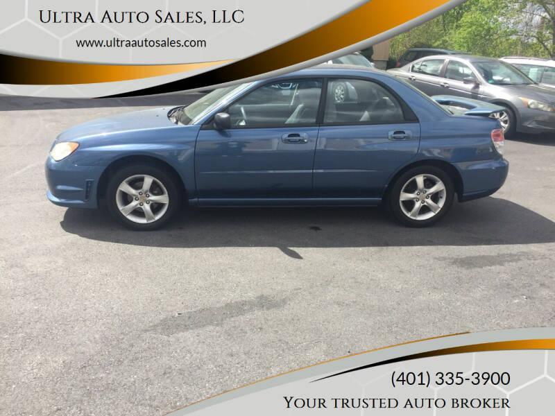 2007 Subaru Impreza for sale at Ultra Auto Sales, LLC in Cumberland RI